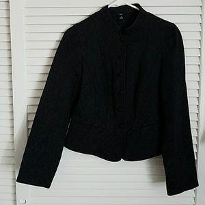 Classy black womens blazer size m NWOT